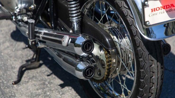 Honda CB750 Sandcast Muffler