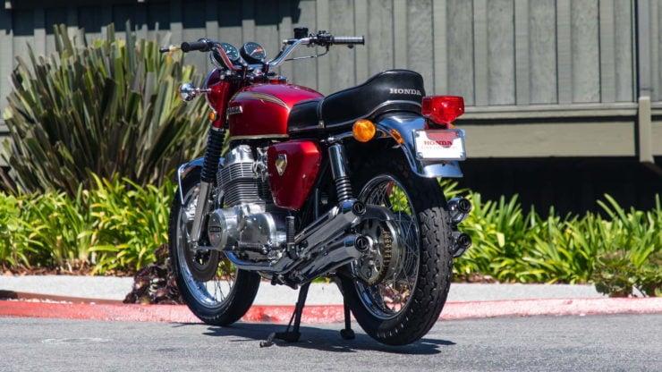 Honda CB750 Sandcast Rear 2
