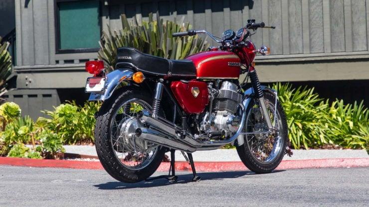 Honda CB750 Sandcast Rear