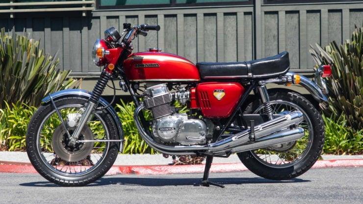 Honda CB750 Sandcast Side