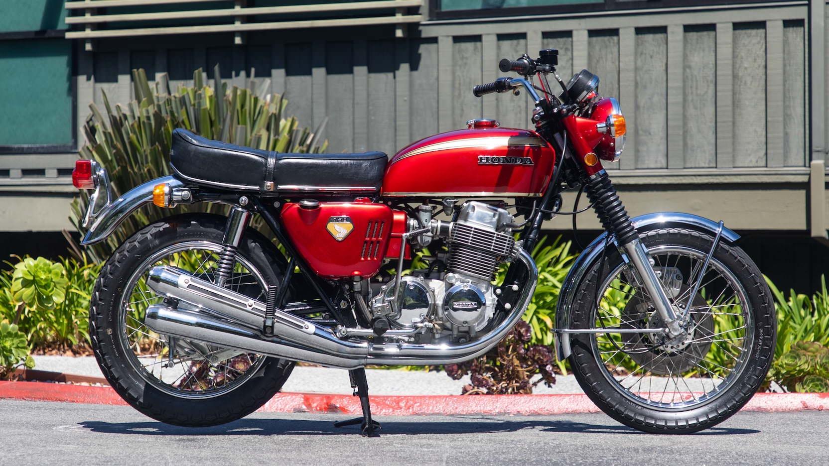 Honda CB750 Sandcast