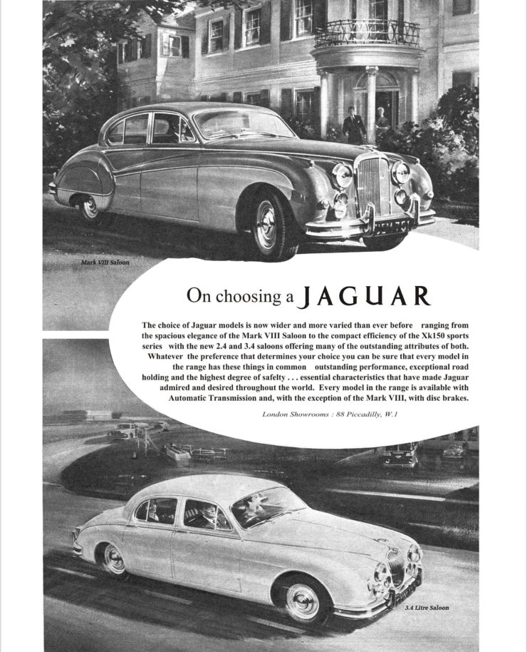 A Brief History of the Jaguar Mark II – The British Bank Robber's Favourite Getaway Car