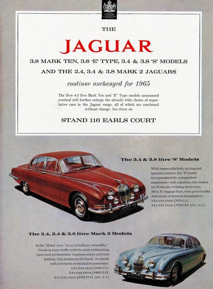Jaguar Mark II Brochure
