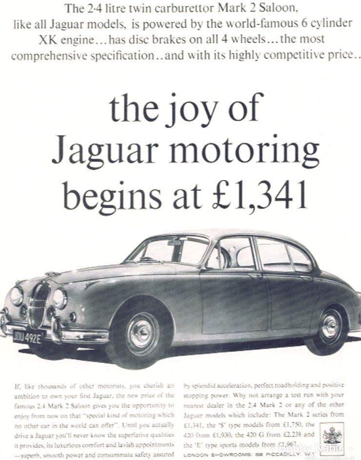 Jaguar Mark II Car
