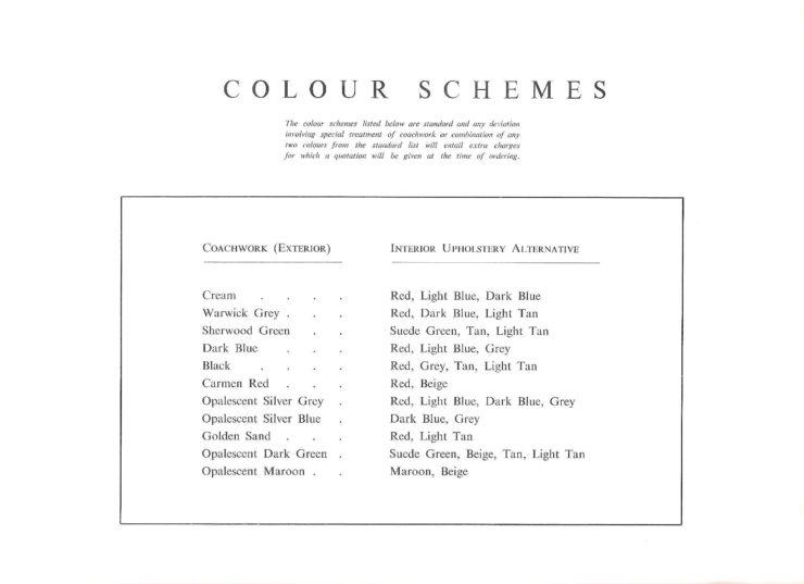 Jaguar Mark II Colors