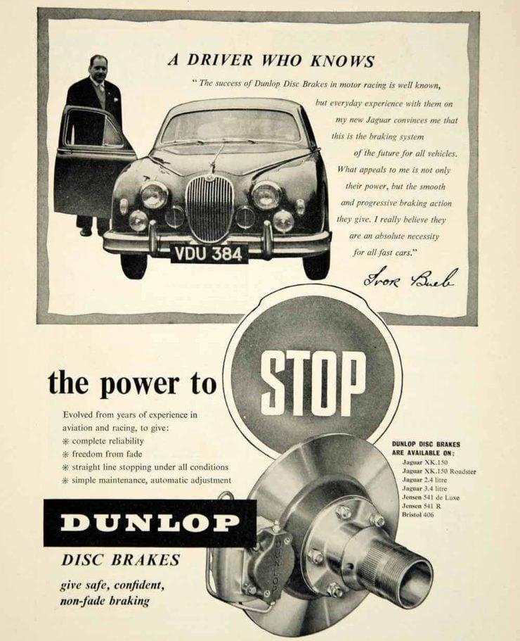 Jaguar Mark II Disc Brakes