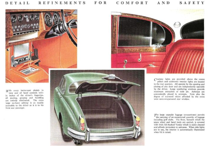 Jaguar Mark II Interior 2