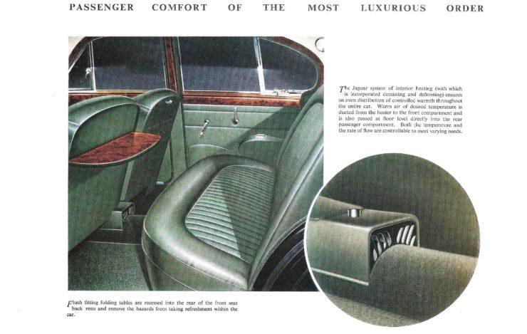 Jaguar Mark II Interior