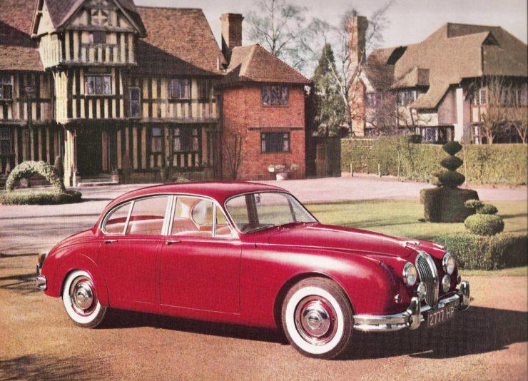 Jaguar Mark II Red