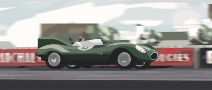 Le Mans 1955 - Deadly Competition - An Animated Short Film 3