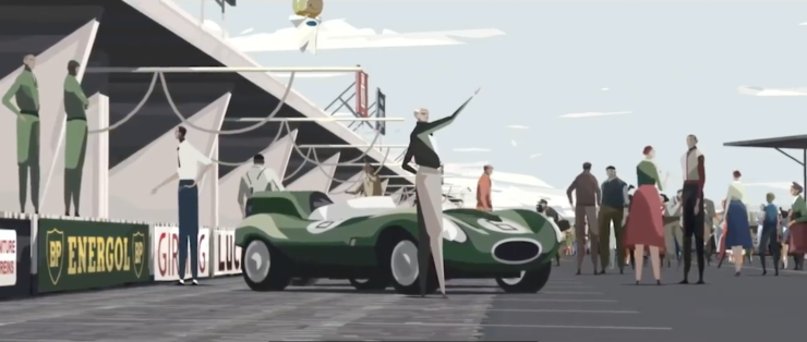 Le Mans 1955 - Deadly Competition - An Animated Short Film 6