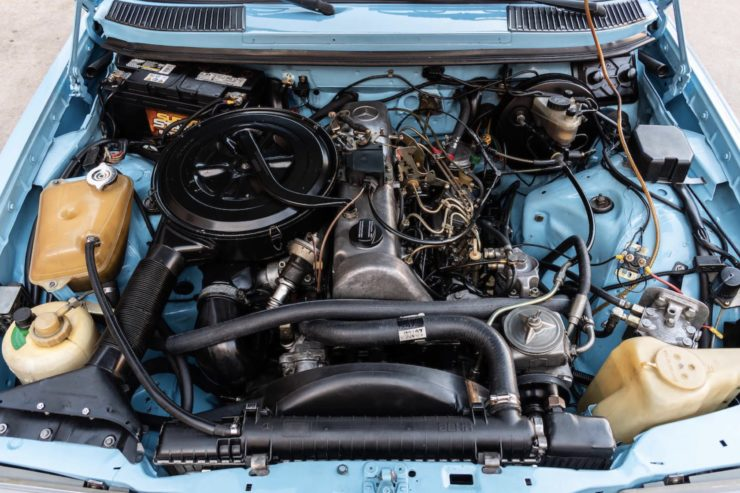 Mercedes-Benz 300TD W123 Engine