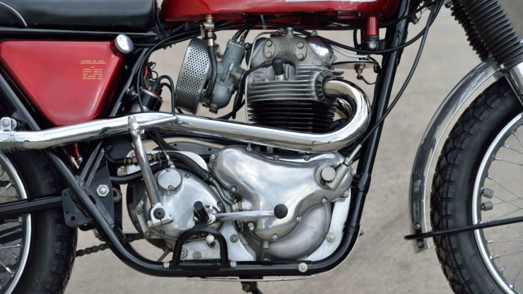 Norton P11 Motorcycle Engine