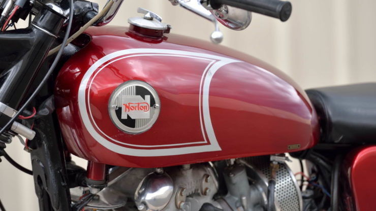 Norton P11 Motorcycle Fuel Tank