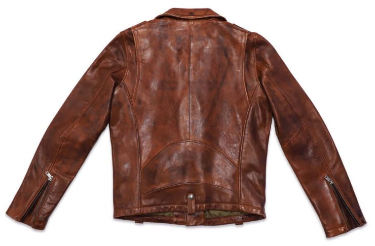 Redford Jacket D73 Leather Company Back