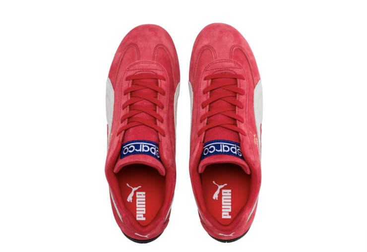 Speedcat OG Sparco Driving Sneakers Red 5