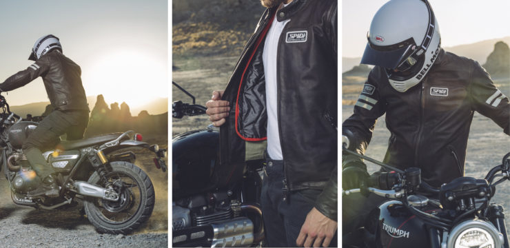 Spidi Vintage Leather Jacket Model 2