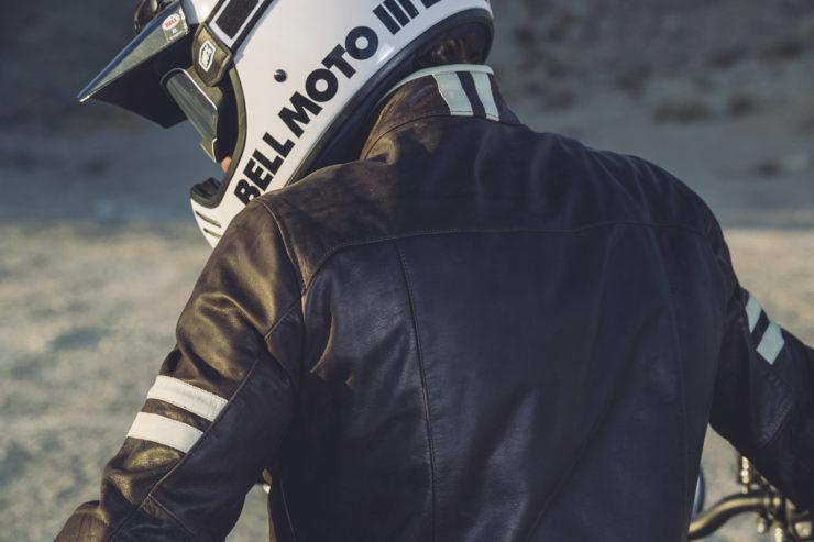 Spidi Vintage Leather Jacket Model