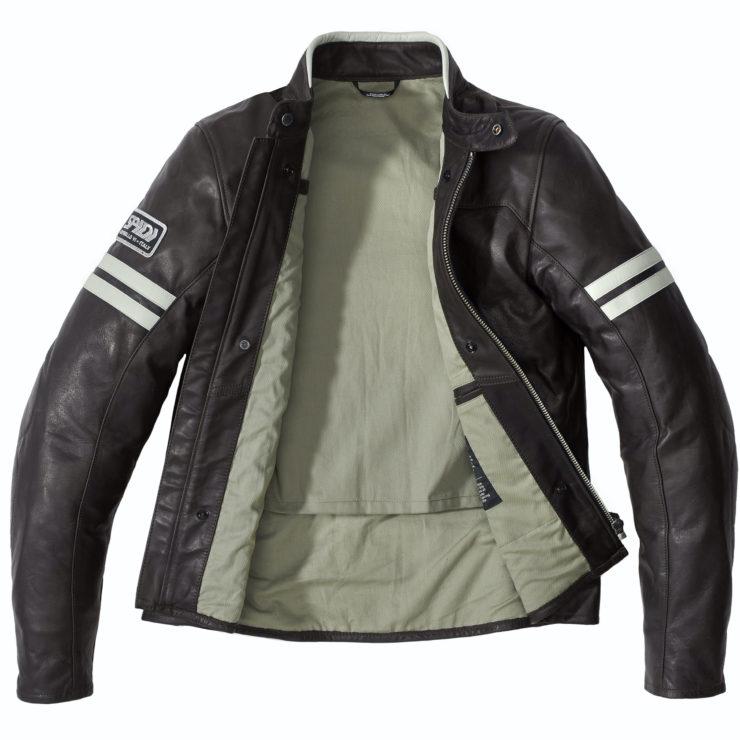 Spidi Vintage Leather Jacket Open