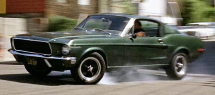 Steve McQueen Bullitt Mustang Car Chase