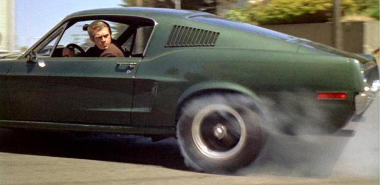 Steve McQueen Bullitt Mustang Car Chase Scene