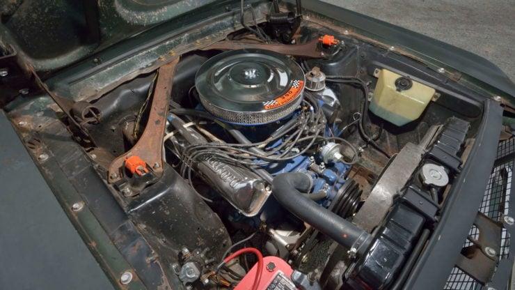 Steve McQueen Bullitt Mustang Engine
