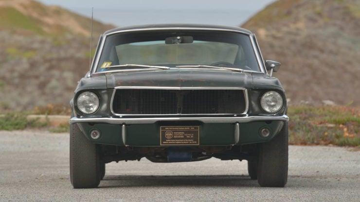 Steve McQueen Bullitt Mustang Front