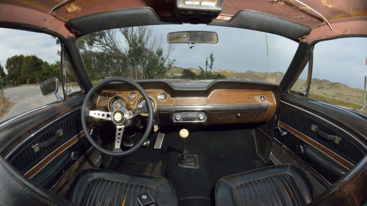 Steve McQueen Bullitt Mustang Interior 3