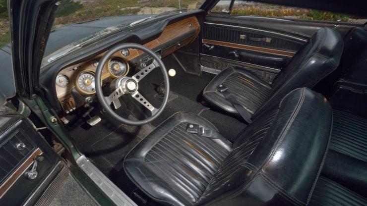 Steve McQueen Bullitt Mustang Interior