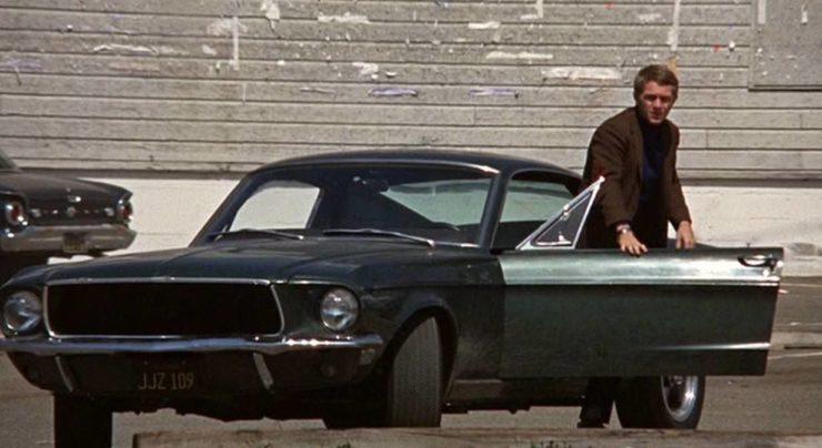 Steve McQueen Bullitt Mustang Movie