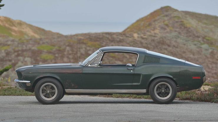 Steve McQueen Bullitt Mustang Side 2