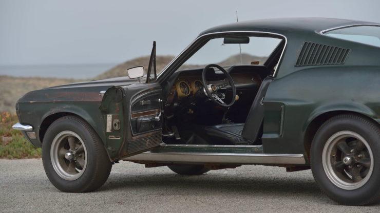 Steve McQueen Bullitt Mustang Side 3