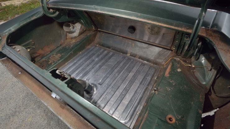 Steve McQueen Bullitt Mustang Trunk