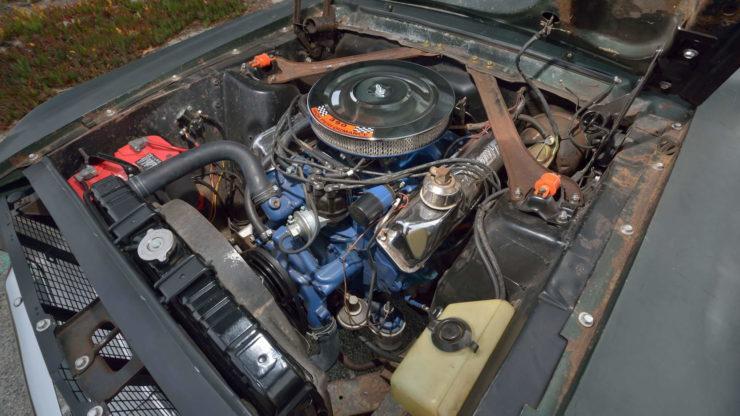 Steve McQueen Bullitt Mustang V8