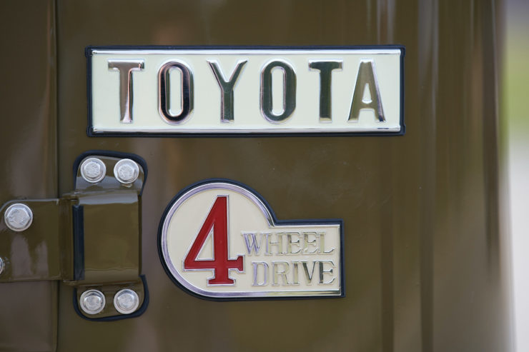 Toyota FJ40 Land Cruiser Soft-Top Badges