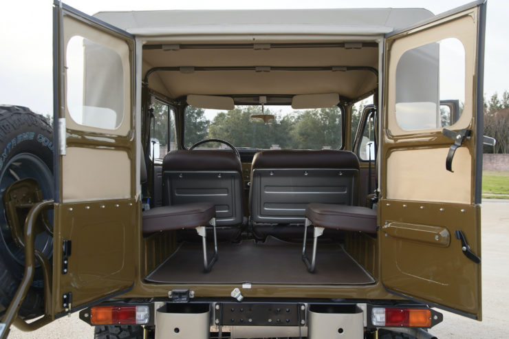 Toyota FJ40 Land Cruiser Soft-Top Rear Doors