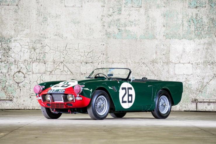 Triumph TRS Front