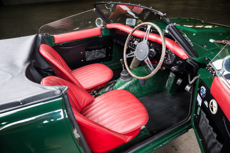 Triumph TRS Interior