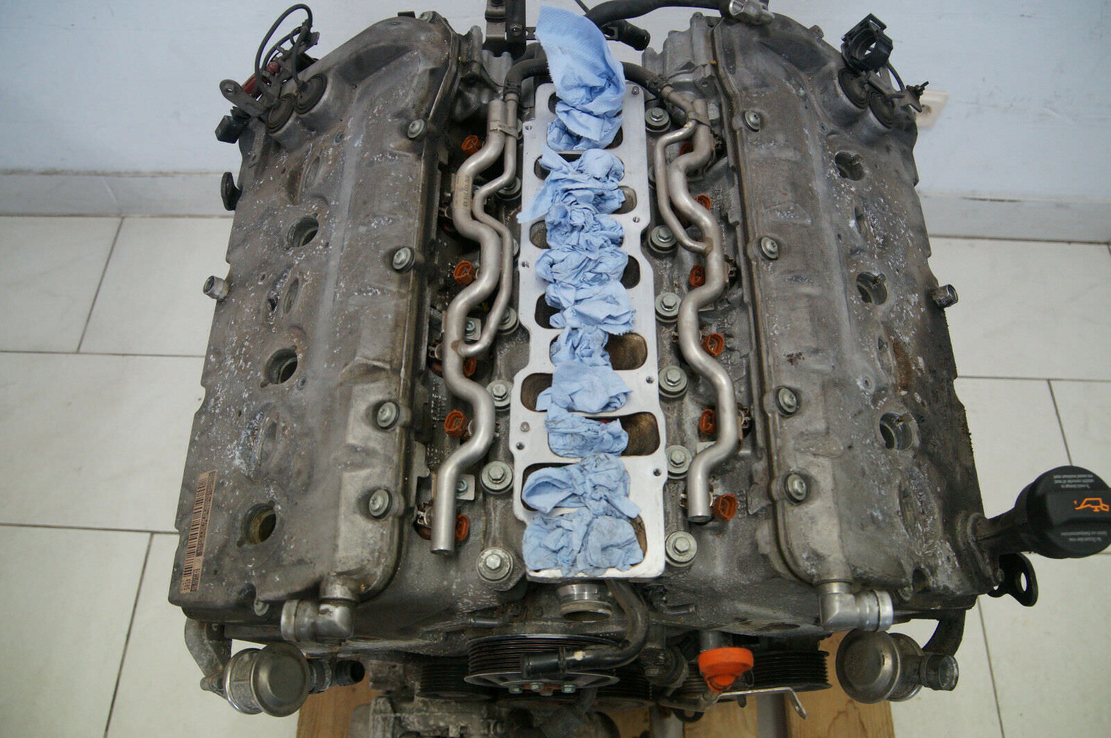 VW Touareg W12 Engine