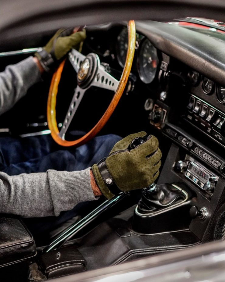 Winter Road Driving Gloves E-Type 3