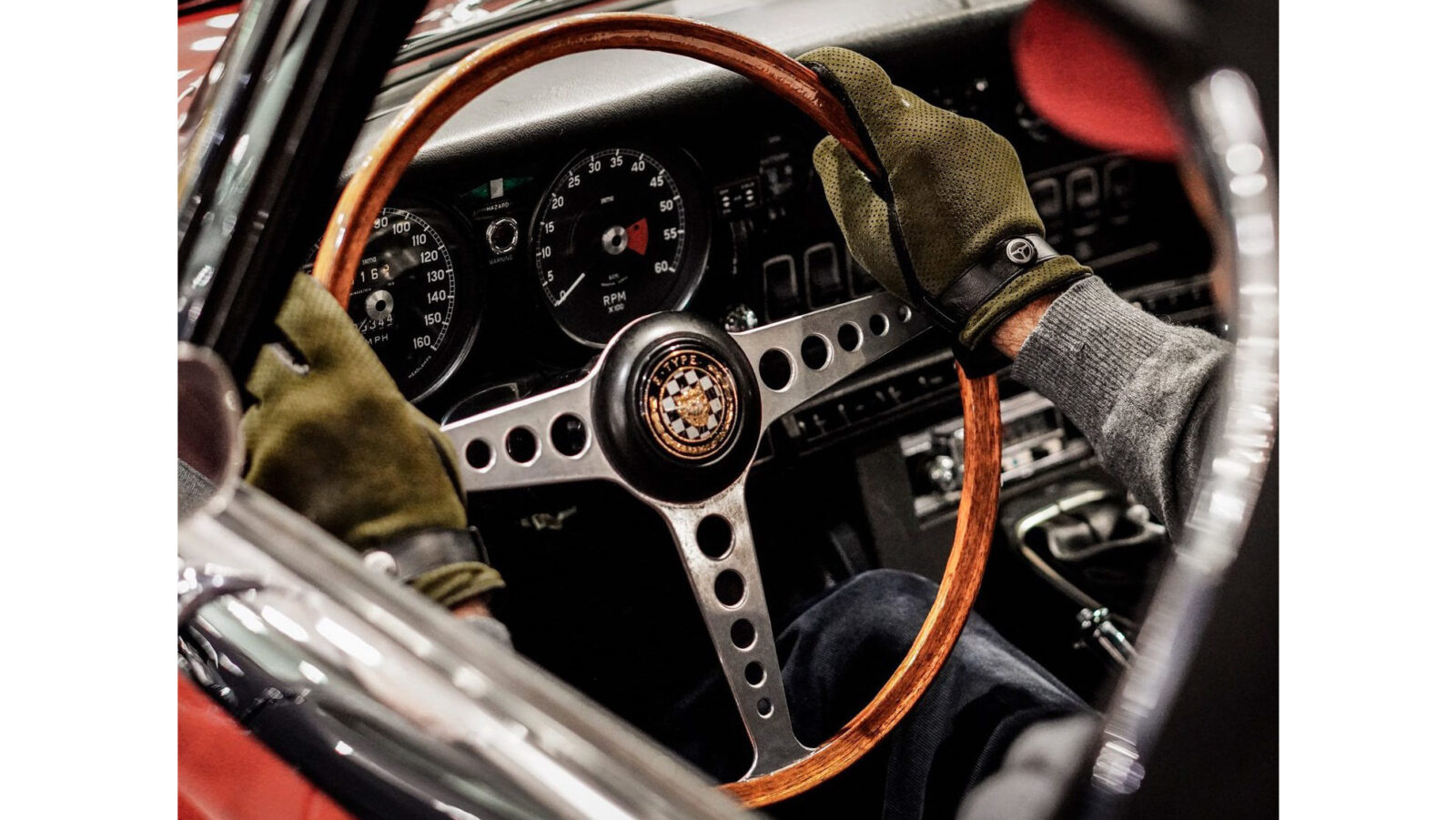 Winter Road Driving Gloves E-Type 4