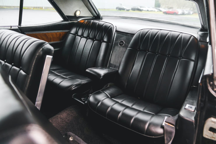 1965 Buick Riviera Rear Seats