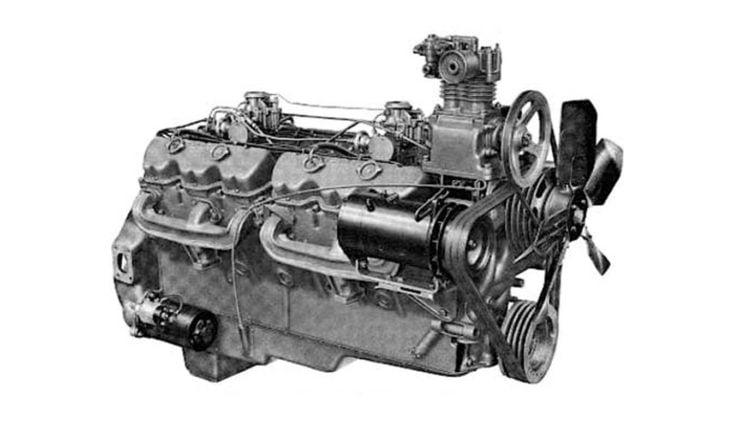 702 Cubic Inch 11.5 Litre GMC V12 Engine