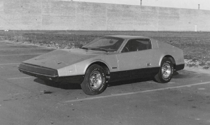Bricklin Grey Ghost sports car prototype Canada