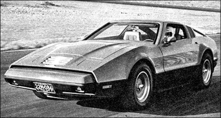 Bricklin sports car Canada