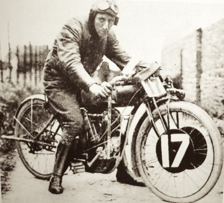 Charles Bayly Franklin Indian motorcycle