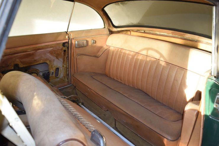 BMW 503 Back Seat