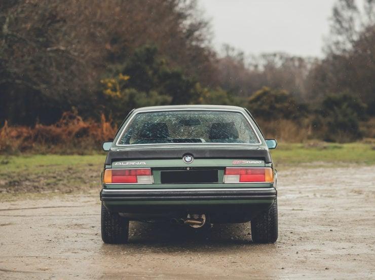 BMW Alpina B7 S Turbo Coupé Back