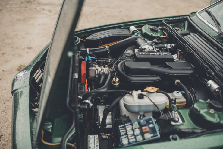 BMW Alpina B7 S Turbo Coupé Engine 2