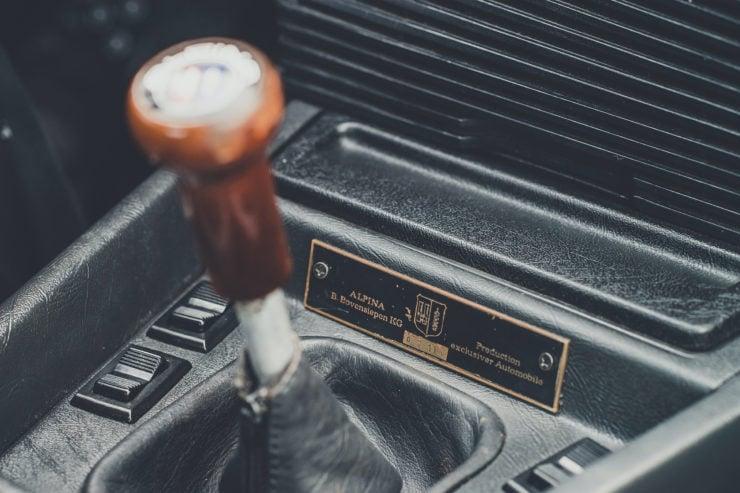 BMW Alpina B7 S Turbo Coupé Gear Knob